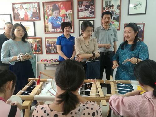 中国残疾人就业服务中心调研吴忠市残疾人就业培训工作(图1)